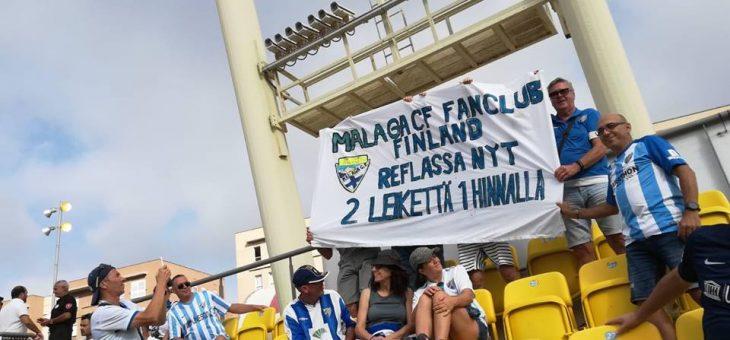 Malaga CF Fan Club Finland Las Palmasissa