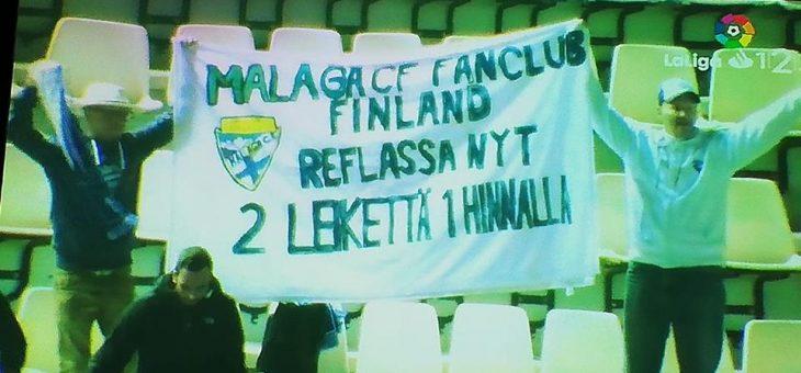 Malaga CF fan club Teneriffalla!