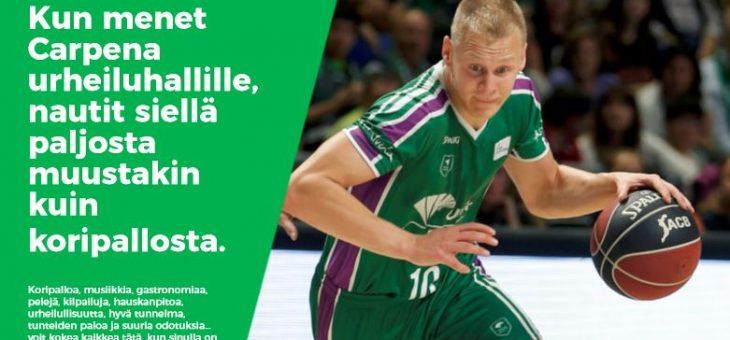 Tiistaina 15.1. Unicajan tärkeään EuroCup -koripallo-otteluun supertarjouksella!