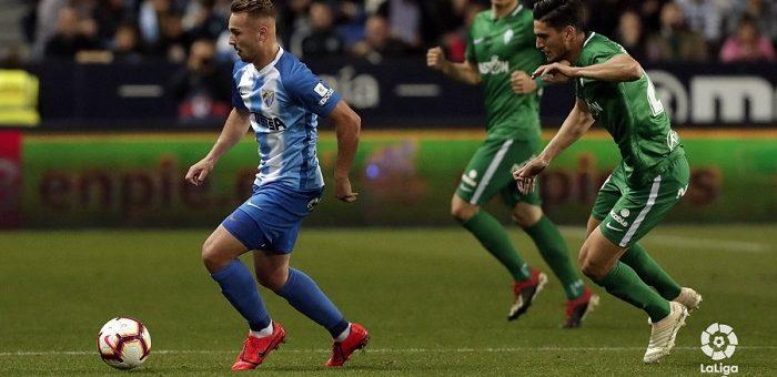 Malaga 1-1 -tasapeliin Robin Lodin Sporting Gijonia vastaan.