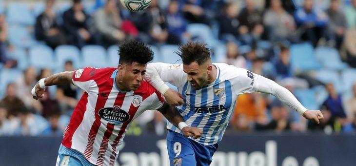 Malagan voitto valui käsistä yliajalla, Malaga – Lugo 1-1