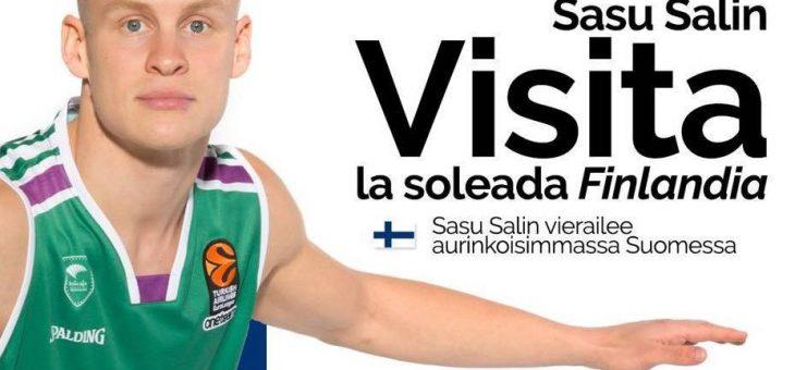 Sasu Salin vierailee Reflassa torstaina 28.3. alk. klo 13.30!