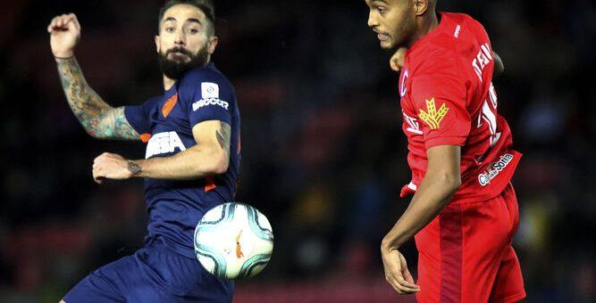 Malaga vierasottelussa 0-0 -tasuriin Numanciaa vastaan